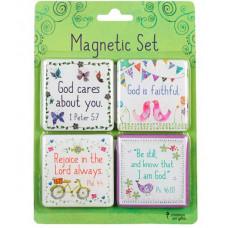 Magnet Set God Cares For You