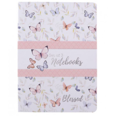Blessed Set Of Three Notebooks