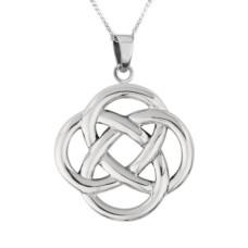 Round Celtic Knotwork Necklace