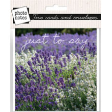 Photonotes Just To Say Notecards - Pack of 5
