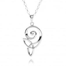 Celtic Spiral Knot Necklace