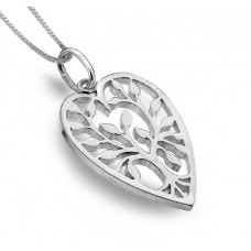 Heart Shaped Tree of Life Necklace
