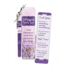 Whispers Of God's Love Pen And Bookmark Set