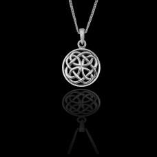 Celtic Double Knot Necklace