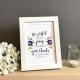Be Joyful Always Framed Print