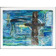 Lindisfarne Journey A4 Print - Unframed