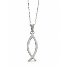Ichthus Fish Necklace