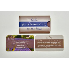 Scripture Card Pack of 7