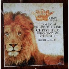 King of Kings Square Mini Plaque