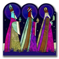 Christmas Cards 10 Pack - Three Kings