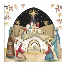 Christmas Card 10 Pack - Worship