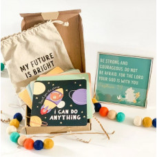 Children's Faith Based Affirmation Cards & Frame Set