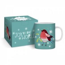 Christmas Robin Mug And Giftbox