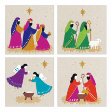 Christmas Cards 20 Pack Bright Christmas Tearfund