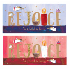 Christmas Cards 10 Pack Rejoice!