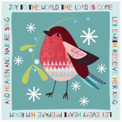 Christmas Cards 10 Pack Robin Joy