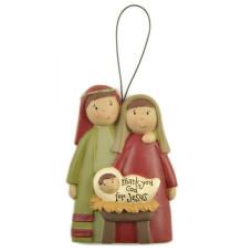 Christmas Hanging Nativity Decoration
