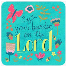 Cast Your Burden Coaster