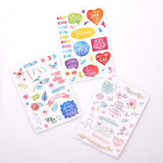 Colourful Stickers for Bible Journaling