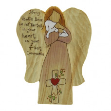 First Communion Wooden Angel