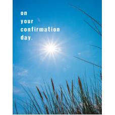 Confirmation Card Blue Sky Petite