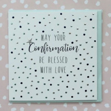 Confirmation Card With Spots