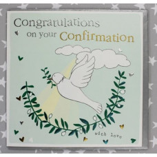 Congratulations On Your Confirmation Dove Card