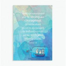 Courageous A6 Greetings Card
