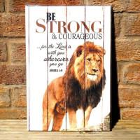 Courageous Lion Canvas Artboard