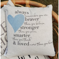 Cushion - Always Remember You Are Loved