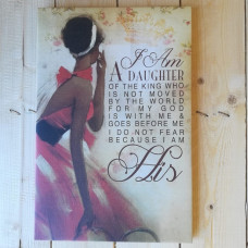 Girl With Red Dress Canvas Artboard