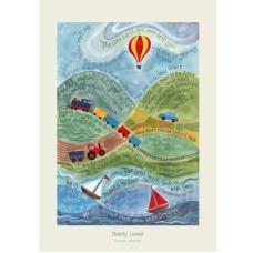 Hannah Dunnett Dearly Loved A3 Poster