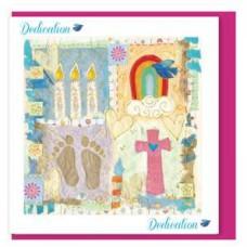 Dedication Card Rainbow