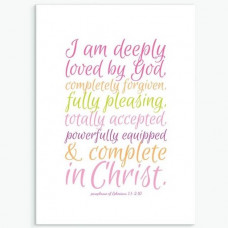 Deeply Loved Greetings Card