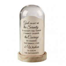 Dome Light Jar Serenity Prayer