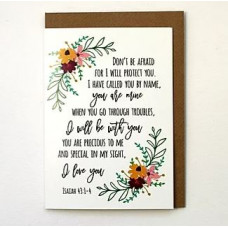 Don't Be Afraid Card