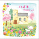 Easter Blessings Cards Pack Of 5 Pink Blossom