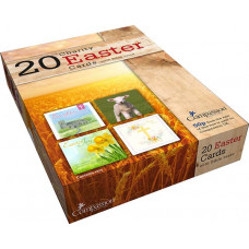 Box of 20 Assorted Charity Easter Cards