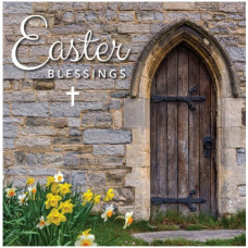 Compassion Charity Easter Cards - Church Door (Pack of 8)