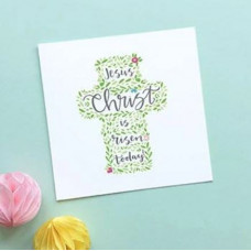 Easter Card Risen Today