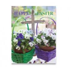 Easter Cards Pack Of 4 - Flower Baskets