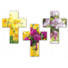 Cross Shaped Mini Easter Cards (24)