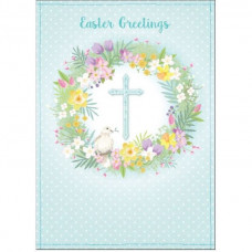 Compassion Charity Easter Cards - Cross/Dove (Pack of 8)