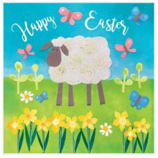 Easter Cards Pack Of 5 Easter Sheep