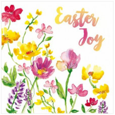 Easter Joy Flowers Easter Cards (pack of 5)