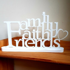 Faith Family Friends Table Top