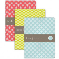 Faith Hope Love Notebooks Set Of Three