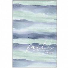 Faith Walks Above The Storm Hardback Journal