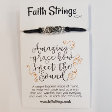 Faith Strings Bracelet - Amazing Grace