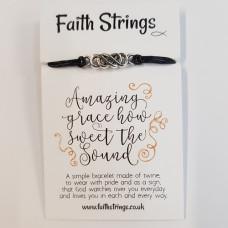 Faith Strings Bracelet - Amazing Grace